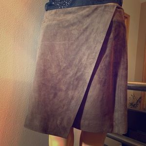 Vince soft leather size 6 skirt